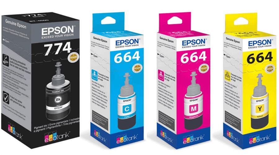 mực in epson T7741, T6642, T6643, T6644
